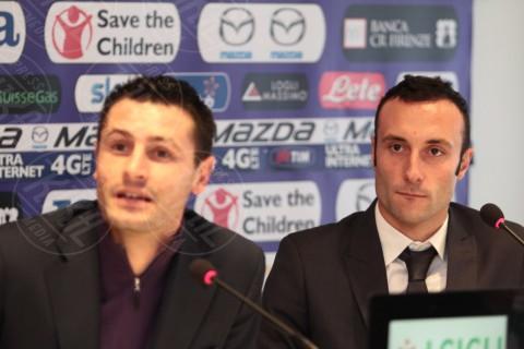 Andrea Luci, Manuel Pasqual - Firenze - 03-01-2014 - Manuel Pasqual e Andrea Luci in campo per la F.O.P.