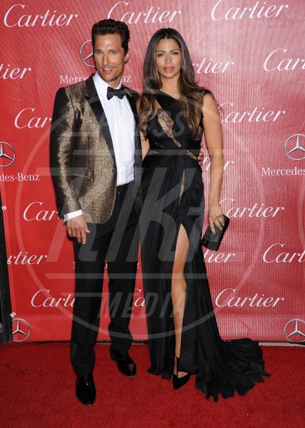 Camila Alves, Matthew McConaughey - Palm Springs - 04-01-2014 - Palm Springs Festival: il red carpet è tempestato di stelle