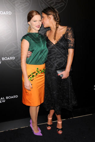 Adèle Exarchopoulos, Lea Seydoux - New York - 07-01-2014 - Vade retro abito: Adèle Exarchopoulos in Louis Vuitton