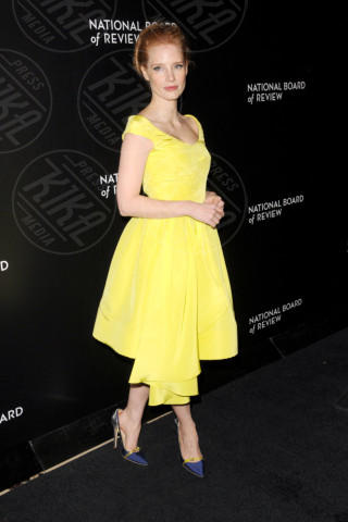 Jessica Chastain - New York - 07-01-2014 - Festa della donna? Quest'anno la mimosa indossala!