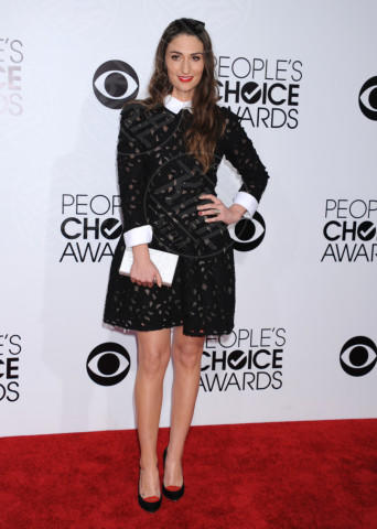 Sara Bareilles - Los Angeles - 08-01-2014 - Primavera bon ton: tutte preppy-chic con il colletto