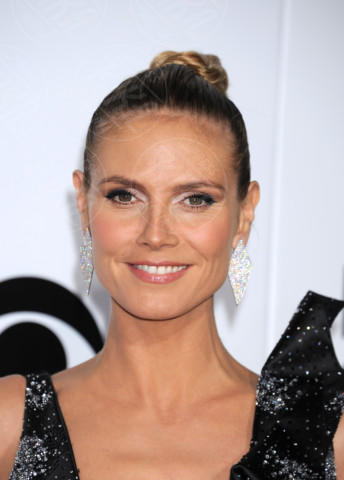 Heidi Klum - Los Angeles - 08-01-2014 - People's Choice Awards 2014: le acconciature