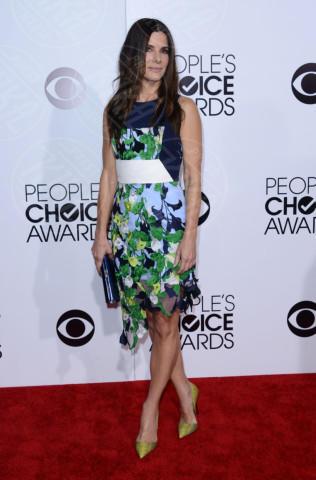 Sandra Bullock - Los Angeles - 08-01-2014 - People's Choice Awards 2014: Sandra Bullock sbaglia look
