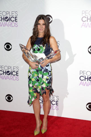 Sandra Bullock - Los Angeles - 09-01-2014 - People's Choice Awards 2014: Sandra Bullock sbaglia look
