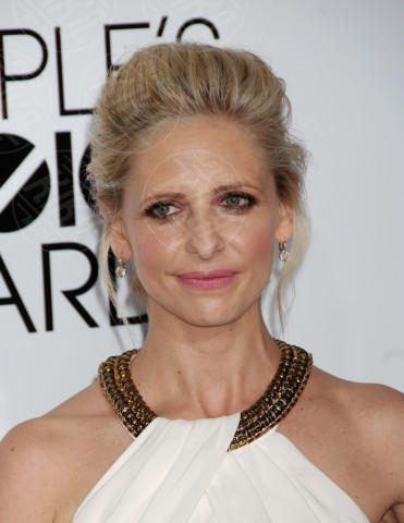Sarah Michelle Gellar - Los Angeles - 08-01-2014 - People's Choice Awards 2014: le acconciature