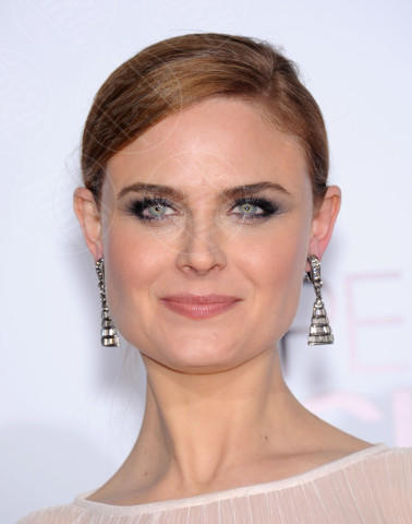 Emily Deschanel - Los Angeles - 08-01-2014 - People's Choice Awards 2014: le acconciature