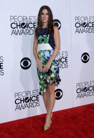 Sandra Bullock - Los Angeles - 08-01-2014 - People's Choice Awards 2014: Sandra Bullock sbaglia look