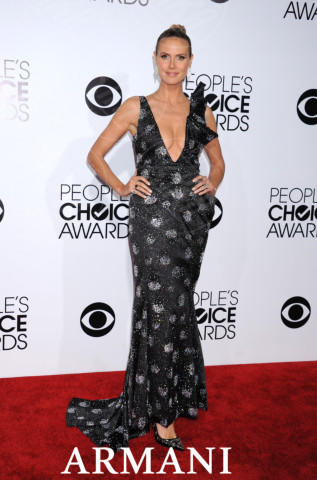 Heidi Klum - Los Angeles - 07-01-2014 - People's Choice Awards 2014: gli stilisti sul red carpet