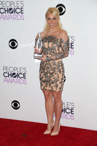Britney Spears - Los Angeles - 08-01-2014 - People's Choice Awards 2014: gli stilisti sul red carpet