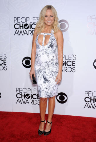 Malin Akerman - Los Angeles - 08-01-2014 - Vade retro abito! Le scelte ai People's Choice Awards