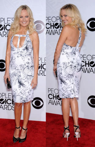 Malin Akerman - 09-01-2014 - Vade retro abito! Le scelte ai People's Choice Awards
