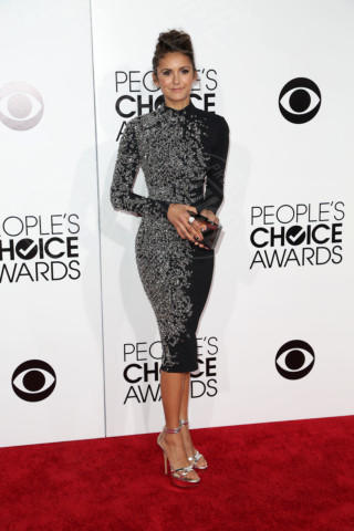 Nina Dobrev - Los Angeles - 08-01-2014 - Vade retro abito! Le scelte ai People's Choice Awards