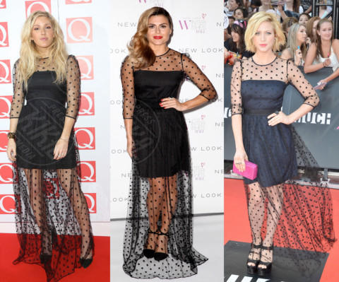 Zoe Hardman, Ellie Goulding, Brittany Snow - 10-01-2014 - Goulding, Hardman, Snow: chi lo indossa meglio?