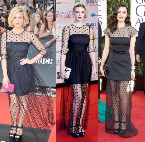 Gaia Weiss, Rachel Weisz, Brittany Snow - 10-01-2014 - Goulding, Hardman, Snow: chi lo indossa meglio?