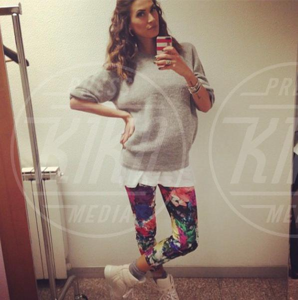 Melissa Satta - Los Angeles - 10-01-2014 - Parto incinta... torno in forma (se sono nello showbiz)