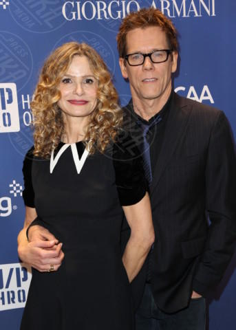 Kristin Chenoweth, Kevin Bacon - Los Angeles - 11-01-2014 - In Harm's Way, Kevin Bacon racconta l'USS Indianapolis