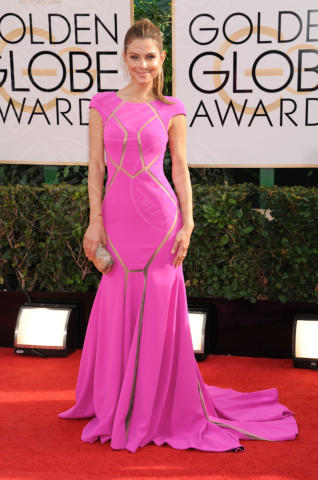 Maria Menounos - Beverly Hills - 13-01-2014 - Golden Globe 2014: gli arrivi sul red carpet