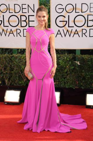 Maria Menounos - Beverly Hills - 13-01-2014 - Golden Globe 2014: gli arrivi sul red carpet