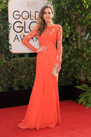 Louise Roe - Beverly Hills - 13-01-2014 - Golden Globe 2014: gli arrivi sul red carpet