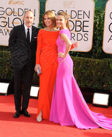 Matt Lauer, Maria Menounos - Beverly Hills - 13-01-2014 - Golden Globe 2014: gli arrivi sul red carpet