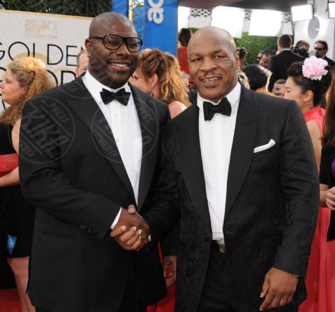Steve McQueen, Mike Tyson - Beverly Hills - 11-01-2014 - Golden Globe 2014: gli arrivi sul red carpet