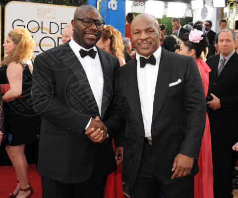 Steve McQueen, Mike Tyson - Beverly Hills - 11-01-2014 - Golden Globe 2014: gli arrivi sul red carpet