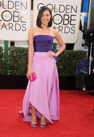 Aubrey Plaza - Beverly Hills - 11-01-2014 - Golden Globe 2014: gli arrivi sul red carpet