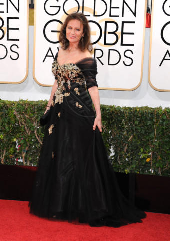 Jacqueline Bisset - Beverly Hills - 11-01-2014 - Golden Globe 2014: gli arrivi sul red carpet