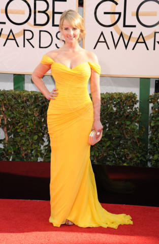 Melissa Rauch - Beverly Hills - 11-01-2014 - Golden Globe 2014: gli arrivi sul red carpet