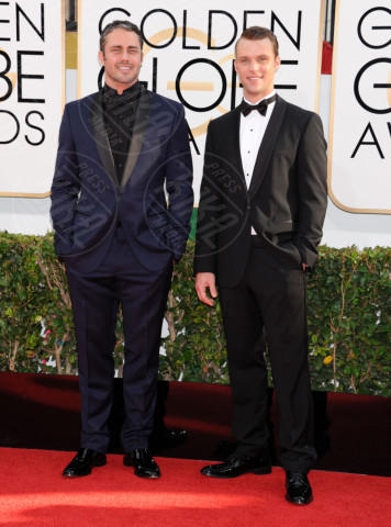 Taylor Kinney, Jesse Spencer - Beverly Hills - 11-01-2014 - Golden Globe 2014: gli arrivi sul red carpet