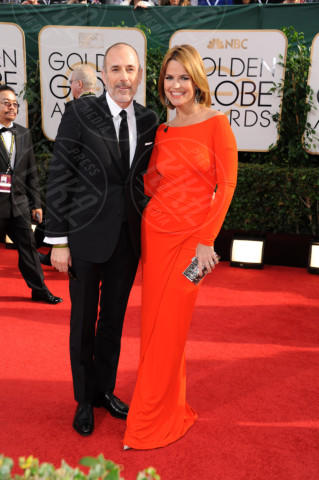 Savannah Guthrie, Matt Lauer - Beverly Hills - 11-01-2014 - Golden Globe 2014: gli arrivi sul red carpet