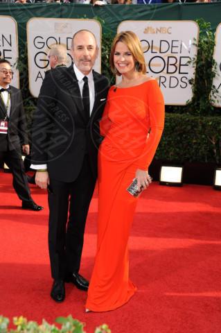 Savannah Guthrie, Matt Lauer - Beverly Hills - 11-01-2014 - Golden Globe 2014: gli arrivi sul red carpet