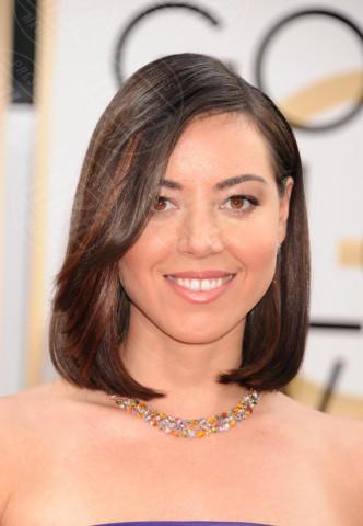 Aubrey Plaza - Beverly Hills - 11-01-2014 - Golden Globe 2014: gli arrivi sul red carpet