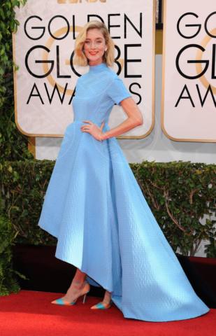 Caitlin Fitzgerald - Beverly Hills - 11-01-2014 - Golden Globe 2014: gli arrivi sul red carpet