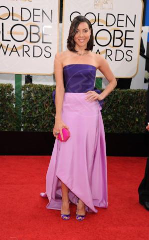 Aubrey Plaza - Beverly Hills - 11-01-2014 - Vade retro abito! Le scelte ai Golden Globe 2014