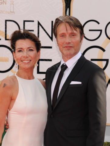 Mads Mikkelsen - Beverly Hills - 11-01-2014 - Golden Globe 2014: gli arrivi sul red carpet