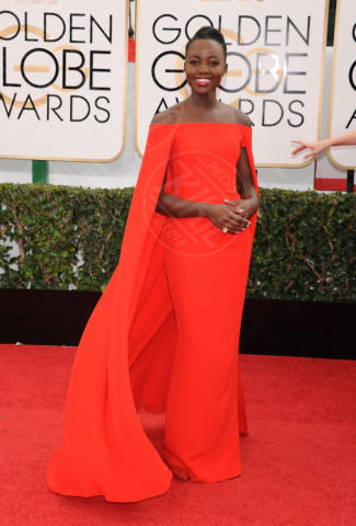 Lupita Nyong'o - Beverly Hills - 13-01-2014 - Golden Globe 2014: gli arrivi sul red carpet