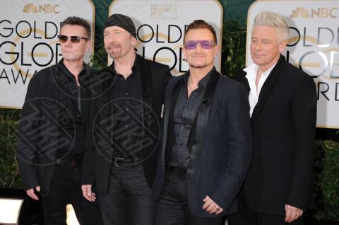 U2 - Beverly Hills - 13-01-2014 - Golden Globe 2014: gli arrivi sul red carpet