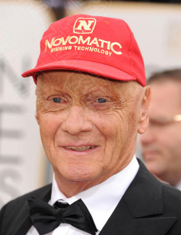 Niki Lauda - Beverly Hills - 13-01-2014 - Golden Globe 2014: gli arrivi sul red carpet