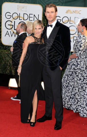 Chris Hemsworth, Elsa Pataky - Beverly Hills - 13-01-2014 - Golden Globe 2014: gli arrivi sul red carpet