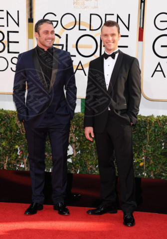 Taylor Kinney, Jesse Spencer - Beverly Hills - 13-01-2014 - Golden Globe 2014: gli arrivi sul red carpet