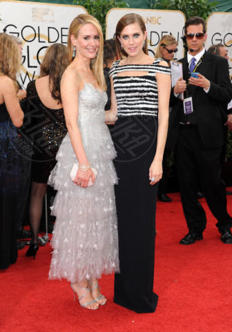 Allison Williams, Sarah Paulson - Beverly Hills - 13-01-2014 - Golden Globe 2014: gli arrivi sul red carpet