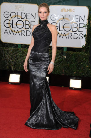 Uma Thurman - Beverly Hills - 13-01-2014 - Golden Globe 2014: gli arrivi sul red carpet