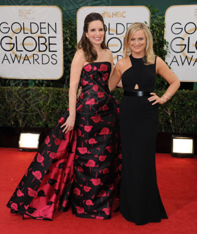 Tina Fey, Amy Poehler - Beverly Hills - 13-01-2014 - Golden Globe 2014: gli arrivi sul red carpet