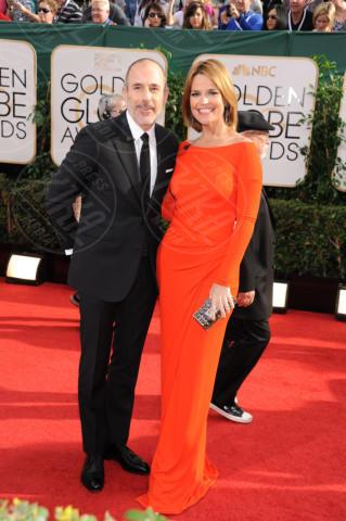 Savannah Guthrie, Matt Lauer - Beverly Hills - 13-01-2014 - Golden Globe 2014: gli arrivi sul red carpet