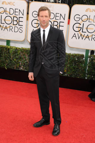 Aaron Eckhart - Beverly Hills - 13-01-2014 - Golden Globe 2014: gli arrivi sul red carpet