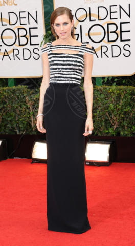 Allison Williams - Beverly Hills - 13-01-2014 - Golden Globe 2014, il red carpet si veste retrò