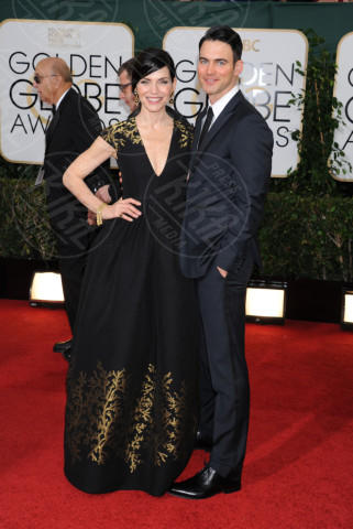 Keith Lieberthal, Julianna Margulies - Beverly Hills - 13-01-2014 - Golden Globe 2014: gli arrivi sul red carpet