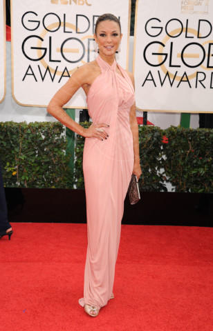 Eva  LaRue - Beverly Hills - 13-01-2014 - Golden Globe 2014: gli arrivi sul red carpet