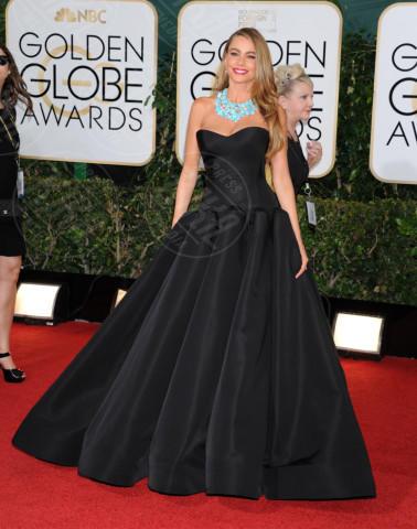 Sofia Vergara - Beverly Hills - 13-01-2014 - Golden Globe 2014: gli arrivi sul red carpet